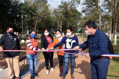 Municipalidad inaugura obras en San Juan Nepomuceno