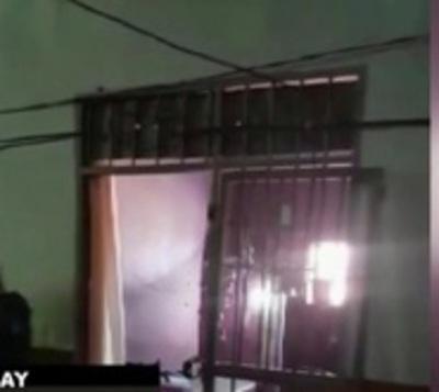 Allanan cárcel de Pedro Juan Caballero ante eventual fuga masiva