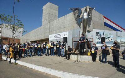 """Ycua Bolaños: """"Aún con tapabocas seguiremos pidiendo justicia"""""""