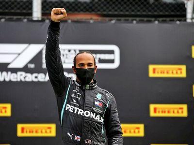 Hamilton, del trompo a la 'pole'