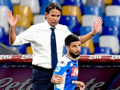 Insigne se retira en Napoli por problema muscular a 7 días del Barça