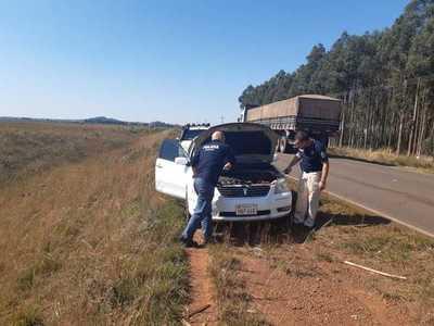 Recuperan vehículo denunciado como robado – Prensa 5