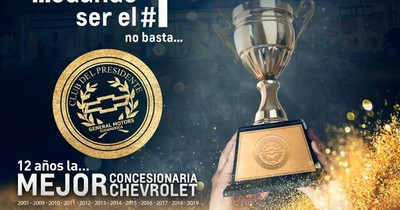 Chevrolet distinguió al mejor Dealer Chevrolet en Paraguay