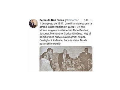 Abdo padre integró Cuatrinomio de Oro