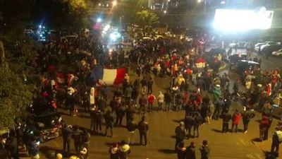 Fiscalía de Derechos Humanos investiga denuncias por supuesta violencia contra aprehendidos durante manifestación