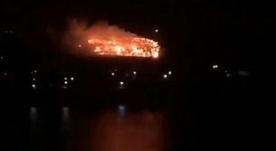Controlan incendio de gran magnitud en Cateura