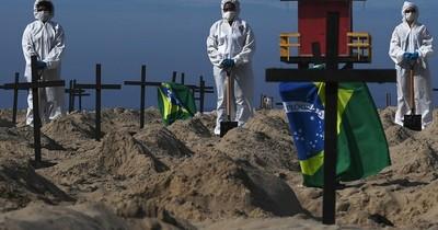 América Latina supera los 200.000 muertos por coronavirus