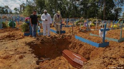 Brasil registra 93.000 muertes por COVID-19
