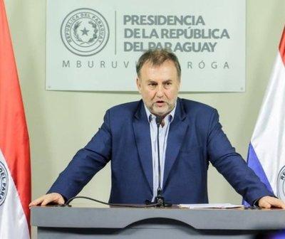 Ministro de Hacienda habla sobre el subsidio Pytyvõ de frontera