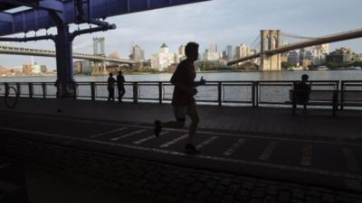 Las carreras virtuales de Nueva York están de moda
