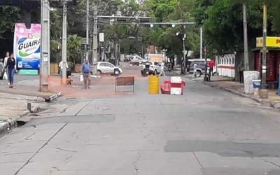 Desde este lunes prevén trabajos de rehabilitación de alcantarillado en Asunción