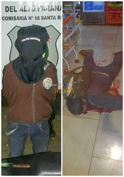 """""""El Chompira"""" fue detenido en Santa Rita tras matar a una persona"""