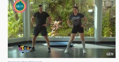Saga Deportiva: tabata, para entrenar en pareja