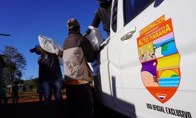 Sigue asistencia alimentaria en Alto Paraná