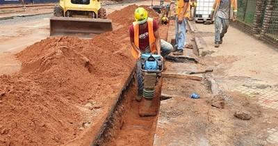 Calles de Asunción serán intervenidas desde hoy por trabajos de alcantarillado sanitario
