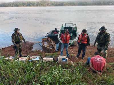 Puertos clandestinos recaudan G. 20 millones por día, denuncian