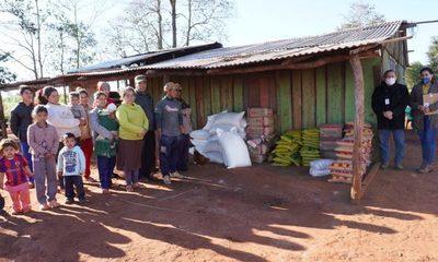 Ayudas alimentarias también llegan a comunidades indígenas de A. Paraná – Diario TNPRESS