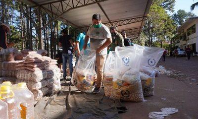Asistencias con alimentos no paran desde la Gobernación, para sectores de trabajadores – Diario TNPRESS