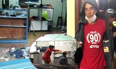 Allanan vivienda y detienen a un ladrón de la joyería, durante la manifestación – Diario TNPRESS