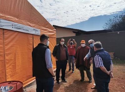 La SEN observó albergues instalados en Hernandarias