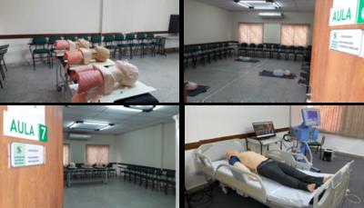 Médicos y enfermeros inician sus prácticas de capacitación en terapia intensiva