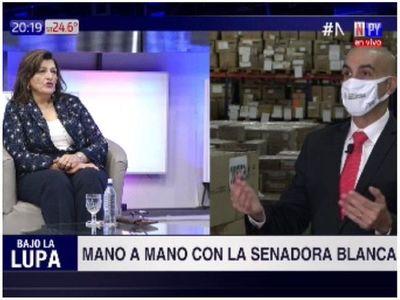 """""""Mi partido tiene una deuda social"""", dice Blanca Ovelar sobre la ANR"""