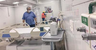 El 50% de las camas de terapia en INERAM están ocupadas