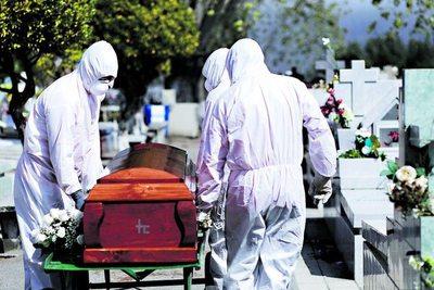 Velorios continúan sin estar habilitados por la pandemia