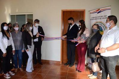 Habilitaron sala de capacitación culinaria en la Gobernación de Amambay
