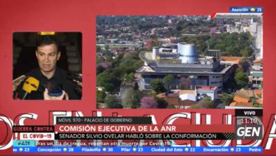 HOY / Senador Silvio Ovelar, sobre comisión ejecutiva de la ANR