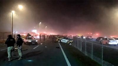 Choque en cadena con 22 vehículos deja 8 muertos y 23 heridos en el sur de Brasil