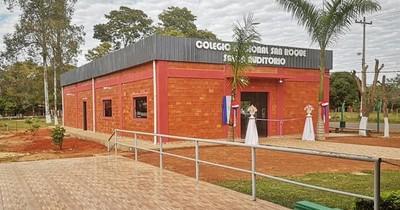 Municipio de Santa Elena aclara uso de recursos del Fonacide al inaugurar obra