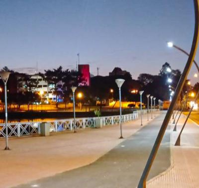 Gran parte del Lago de la República tiene nueva iluminación