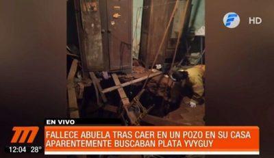 """Anciana fallece tras caer a pozo de """"plata yvyguy"""""""