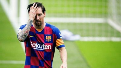 Messi se cuida con un colchón anticoronavirus
