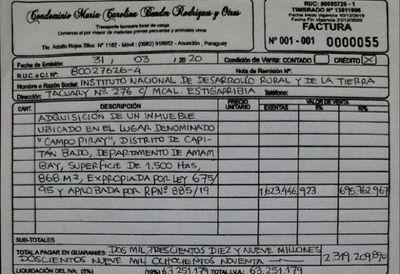 Capitán Bado: Familia reclama pago por expropiación de tierras hace 25 años