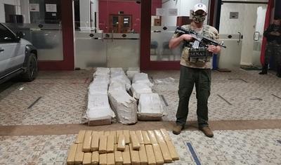 Incautan 431 kilos de marihuana en Yby Yaú