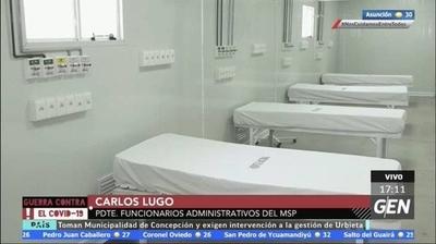 HOY / Carlos Lugo, funcionario administrativo de Salud, sobre las gratificaciones al personal de blanco