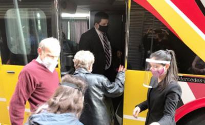 HOY / Otro contingente de paraguayos llega en caravana desde Buenos Aires