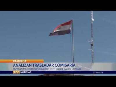 ANALIZAN TRASLADAR COMISARÍA   DE FILADELFIA PARA MEJORAR SU UBICACIÓN