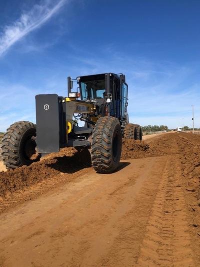 Oro verde realiza demostraciones de equipos New Holland y pretende acompañar el auge de la construcción