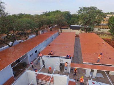 Construirán seis pabellones de contingencia más