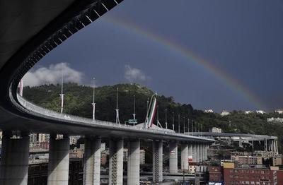 Dos años después de la tragedia, Italia inauguró el nuevo puente de Génova