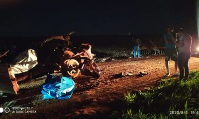 Accidente deja dos muertos en Iruña