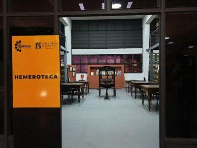 Ayer se  reabrió la Biblioteca Nacional