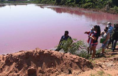 Laguna sufre criminal contaminación y el Mades fiscaliza solo para la foto