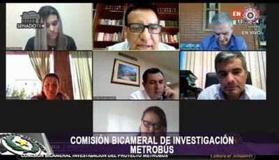 Informe de Bicameral revela el manejo desprolijo en fallida obra del metrobús