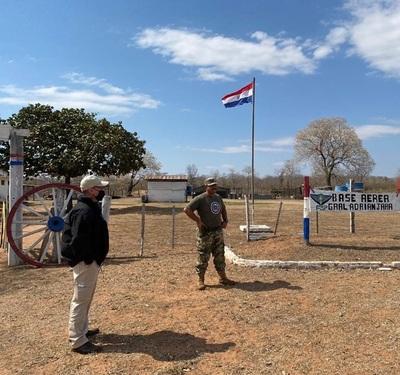 Preparados para combatir eventuales incendios en el Chaco