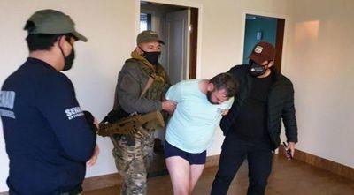Atrapan a jefe narco brasileño en lujoso condominio de Hernandarias