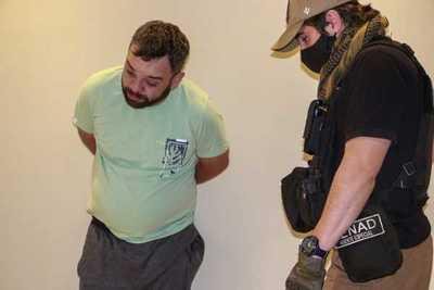 Detuvieron a jefe narco brasileño en Hernandarias